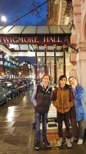 Wigmore Hall Trip